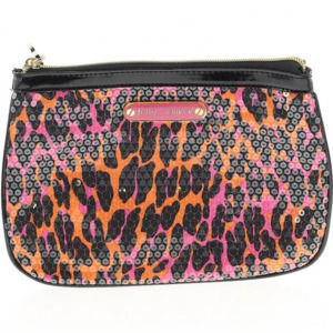 NEW AUTH Betsey Johnson Animal Print Clutch
